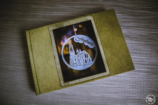 Hardcover-Fotobuch mit Titelbild