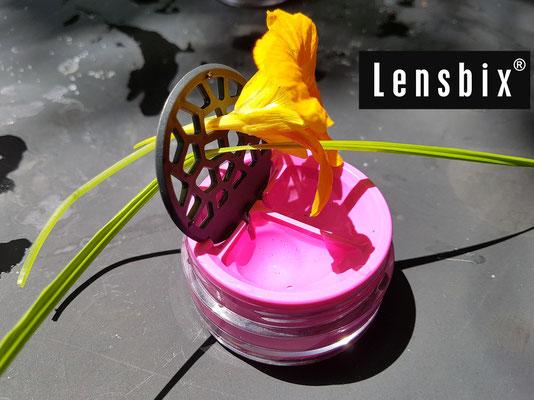 Lensbix moments - Ästhetik pur  / Kontaktlinsenbehälter / Kontaktlinsenbox / Behälter für  Kontaktlinsenaufbewahrung / Kontaktlinsendose