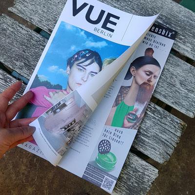 Lensbix Anzeige Vue Magazin Berlin