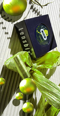 Ein Dankeschön in kiwi Lensbix Kontaktlinsenbehälter Aktuelles  Weihnachten