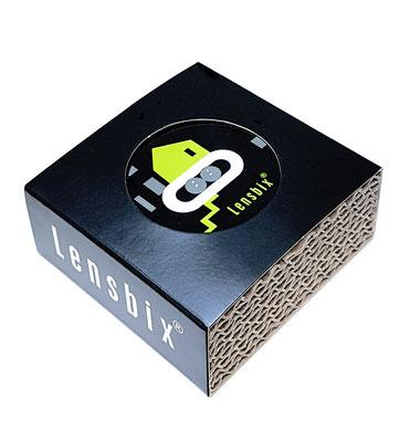Lensbix kiwi  / #Kontaktlinsenbehälter / #Kontaktlinsenbox / #Box für Kontaktlinsenaufbewahrung  / in Geschenkverpackung