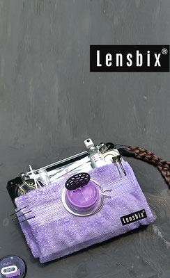Lensbix  zweimal hinsehen -  mit sauberen Spiegelreflex! / Kontaktlinsenbehälter / Kontaktlinsenbox / Box für Kontaktlinsenaufbewahrung