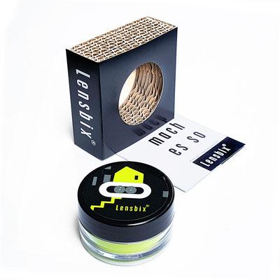 Lensbix k i w i  / Kontaktlinsenbehälter / Kontaktlinsenbox / Box für Kontaktlinsenaufbewahrung / Geschenk entdeckt