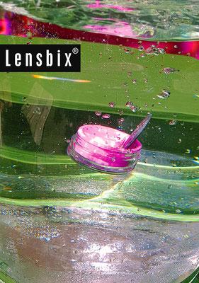 Lensbix moments - die pure Reinheit / Kontaktlinsenbehälter / Kontaktlinsenbox / Behälter für  Kontaktlinsenaufbewahrung / Kontaktlinsendose