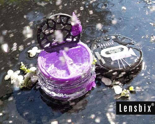 Lensbix moments - für den stürmischen Blick /#Kontaktlinsenbehälter / Kontaktlinsenbox / Behälter für  Kontaktlinsenaufbewahrung / Kontaktlinsendose