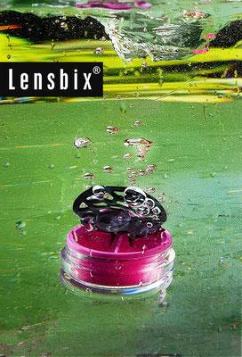 Lensbix moments - schützt wie eine Muschel ihre Perle !/ Kontaktlinsenbehälter / Kontaktlinsenbox / Behälter für  Kontaktlinsenaufbewahrung   / Kontaktlinsen-behaelter.de