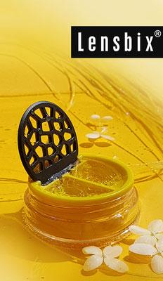 Lensbix moments - Gelb das gewinnt! / Kontaktlinsenbehälter / Kontaktlinsenbox / Behälter für  Kontaktlinsenaufbewahrung / Kontaktlinsendose