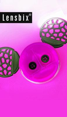 Lensbix  zweimal hinsehen -  #Produkt_Neuerscheinung / Kontaktlinsenbehälter / Kontaktlinsenbox / Box für Kontaktlinsenaufbewahrung
