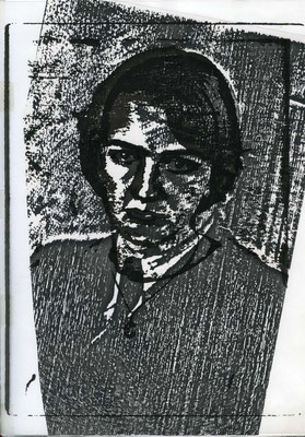 Überlagerung 1, Kopierpapier A4 , 1983/84