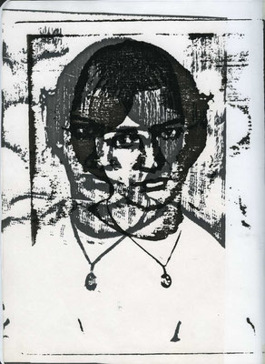 Überlagerung 3, Kopierpapier A4 , 1983/84