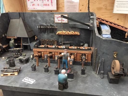 Hans Gugerlis Modell der Hammerschmiede Seengen