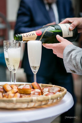 champagner zum sektempfang