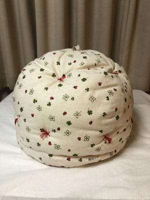 番号7 鍋帽子3100円(生地の柄などは申込時におたずねします)