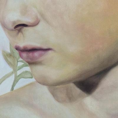 AFTER BATH Detail· 2019 · oil on canvas 160x120cm