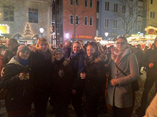 gemeinsamer Weihnachtsmarktbesuch