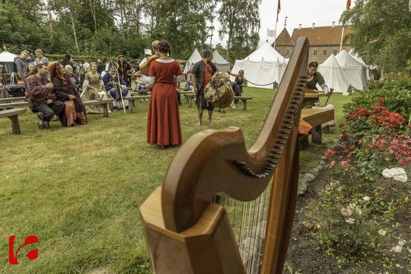 Middelalderdage Voergaard Slot 2019 — Datura Medieval Music