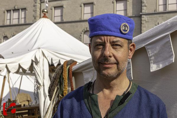 Mittelalterfest Zug 2019, Remo Dörler, Mitglied des OK