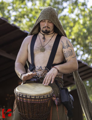 Mittelalterfest Zug 2019, Drums: Fabian Häberli (Meril)
