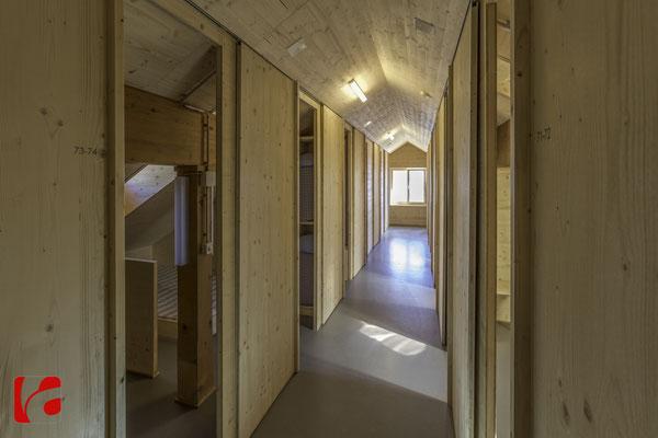 Lämmerenhütte SAC © Detlef Kohl — Dachgeschoss