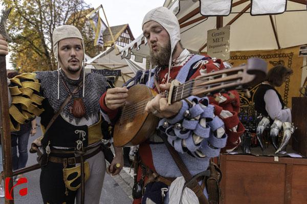 Mittelalterfest Zug 2019, Hellebarden