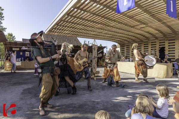 Mittelalterfest Zug 2019, Meril & Andreas Kingl