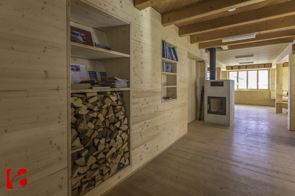 Lämmerenhütte SAC © Detlef Kohl — Bücherausleihe
