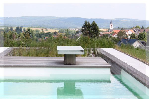 Ausblick Pool