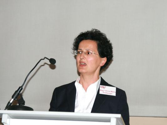Vortrag Mag.a Anna-Maria Freiberger