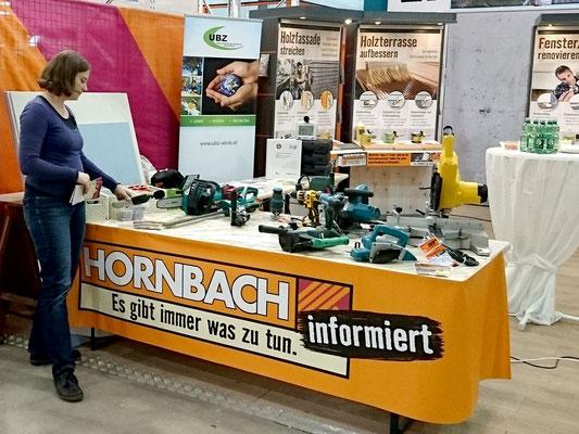 Aktionsstand im Hornbach Graz-Seiersberg