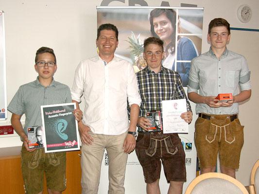 2. Platz - Ing. Dietmar Sauer, Thomas Pfatschbacher, Michael Pfatschbacher und Jakob Fuxjäger