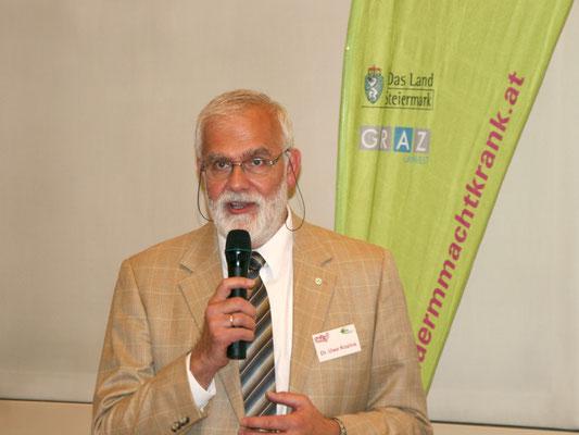 Moderator Dr. Uwe Kozina