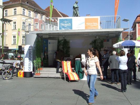 Aktionsstand am Grazer Hauptplatz