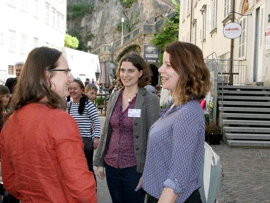 UBZ-Lärm-Team mit Stadträtin Wirnsberger