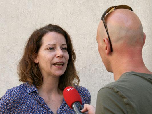 ORF-Interview mit Stadträtin Wirnsberger