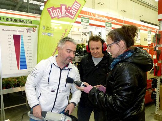 Aktionsstand im Lieb Markt Graz-Nord