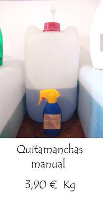Quitamanchas a granel