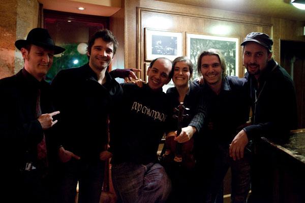 Bugala Quartet and friends photo Laure Garcia