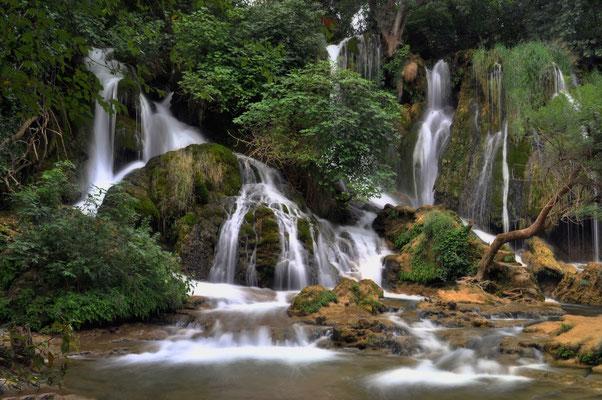 Kravica Wasserfälle in Bosnien - August 2009 N°1