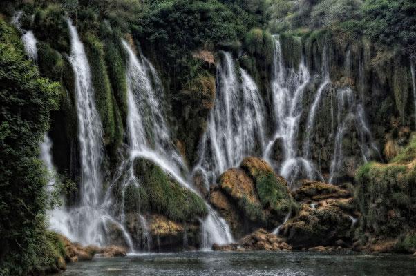 Kravica Wasserfälle in Bosnien - August 2009 N°2