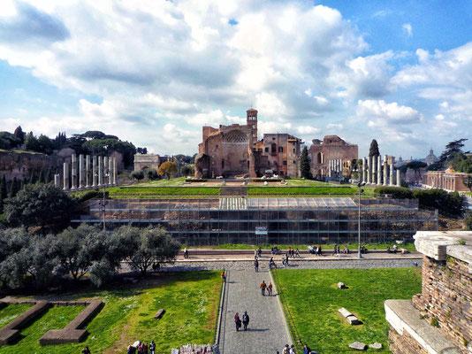 Blick vom Kolosseum
