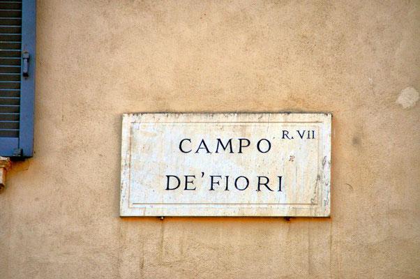 Piazza Campo Dé Fiori N° 1