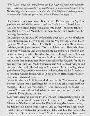 Stadtgeschichte Broschüre Mittelalterstadt