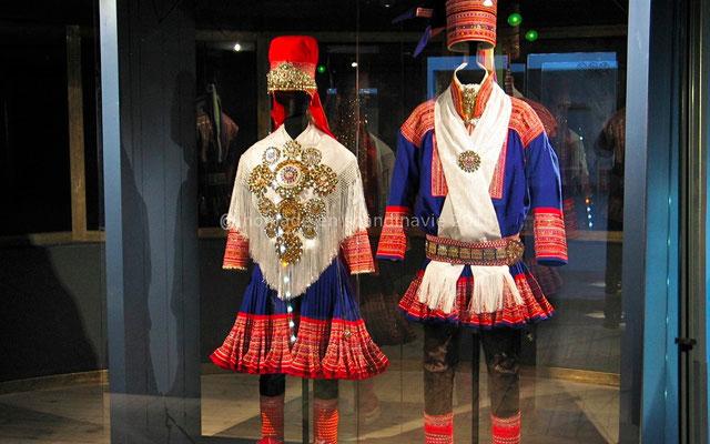 Musée Arktikum, costumes Sames
