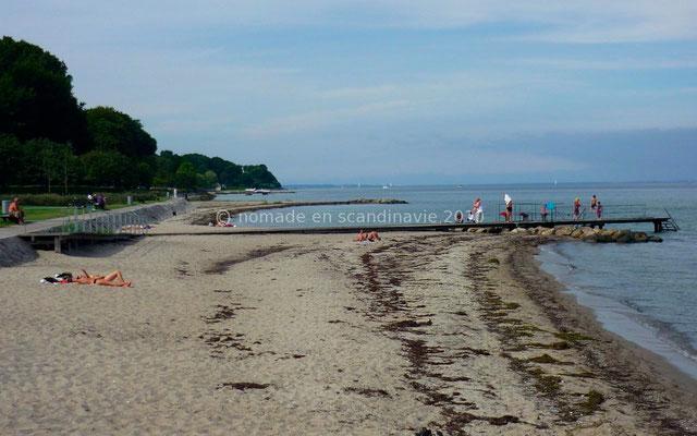 Petites plages de la Riviera danoise