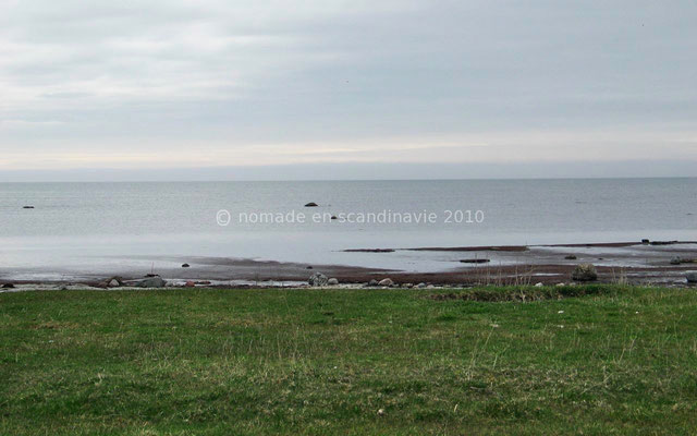 La mer Baltique...