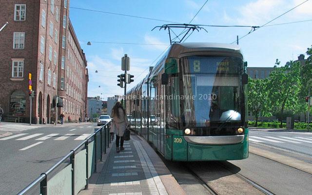 Le tramway d'Helsinki