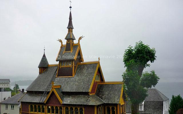 Église Saint Olav à Balestrand