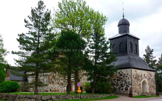 La jolie église de Sipoo.