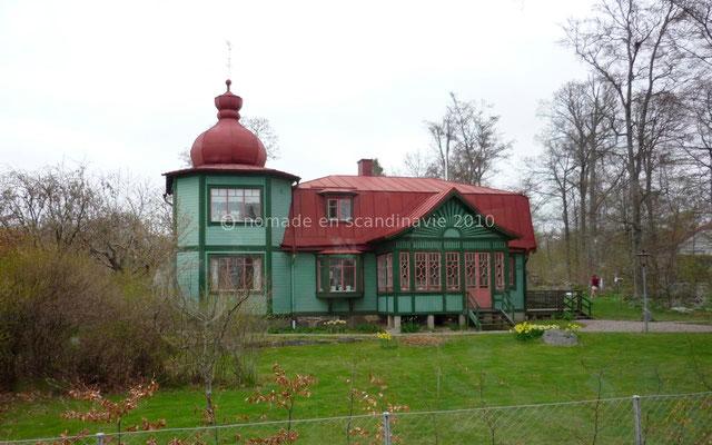 Maison de bois suédoise