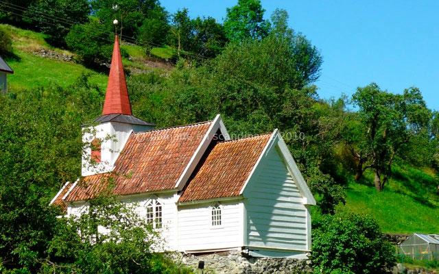 L'église d'Undredal